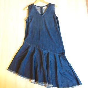 Cloth & Stone sleeveless denim dress